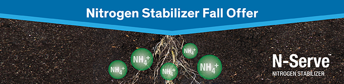 Nitrogen Stabilizer Fall Offer