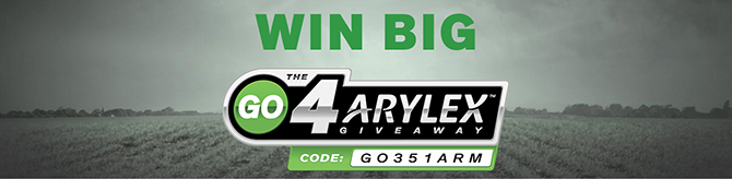 The Go4Arylex Giveaway | GO351ARM