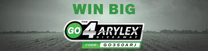 The Go4Arylex Giveaway | GO350ARJ